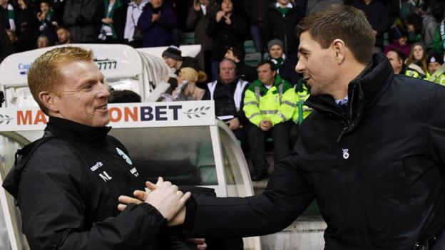 Celtic v Rangers: Neil Lennon aims to make case as Steven Gerrard looks for leaders thumbnail