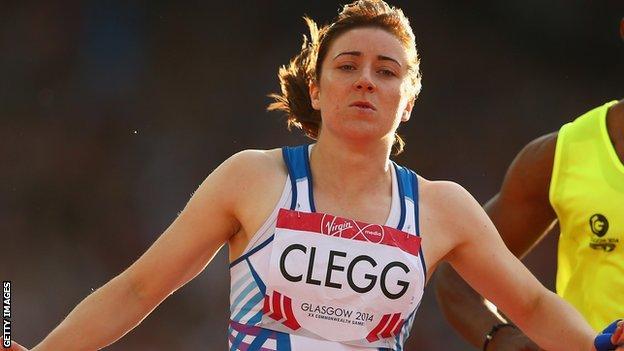 Paralympic sprinter Libby Clegg