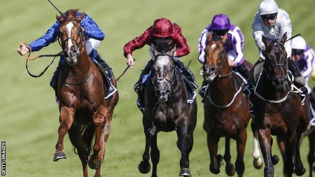 Masar wins the Derby