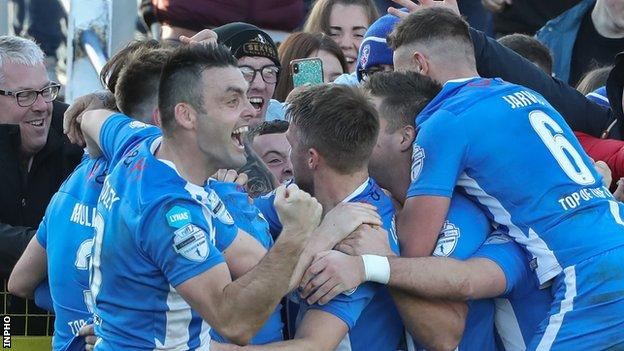 Coleraine are unbeaten after 13 Premiership matches this season