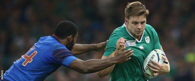 Iain Henderson starred after replacing Paul O'Connell at half-time against France