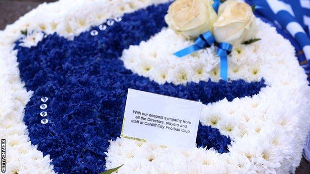 Cardiff flowers dedicated to Leicester