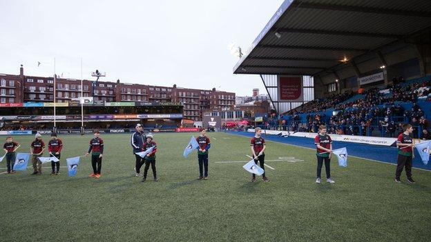 Cardiff Blues' last Pro14 game at Cardiff Arms Park was against Benetton on 23 February, 2020