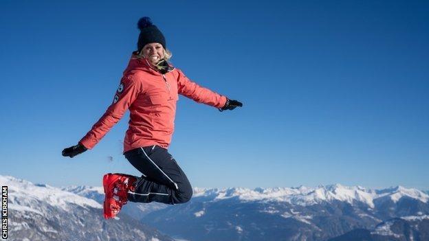 Ski Sunday presenter Chemmy Alcott