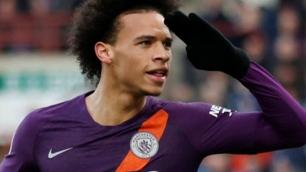 a9d2f9d64 Huddersfield 0-3 Man City  Champions ease past managerless Terriers - BBC  Sport
