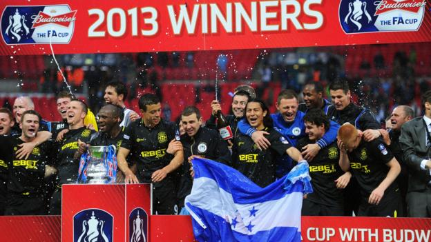 Wigan to host Man City in FA Cup fifth round
