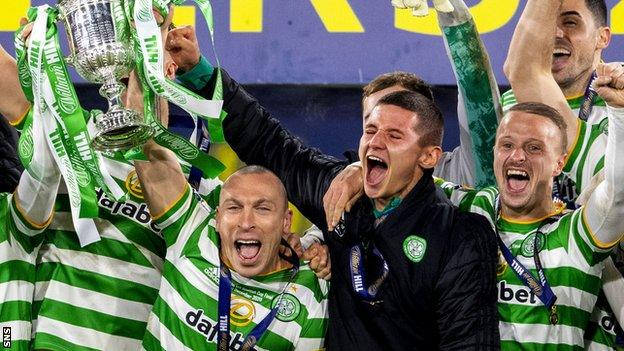 Celtic have won the Scottish Cup in each of the last four seasons
