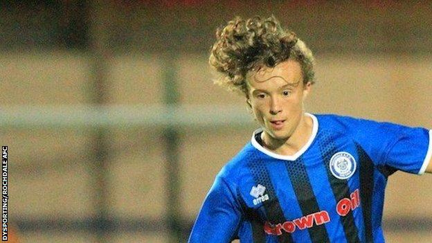 Luke Matheson replaced the injured Connor Randall after 13 minutes in their 2-1 Checkatrade Trophy win against Bury