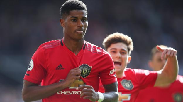 Manchester United 1-0 Leicester City: Marcus Rashford penalty clinches victory thumbnail