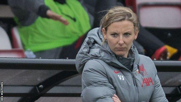 Vicky Jepson had led Liverpool to six wins from 11 Women's Championship matches this season