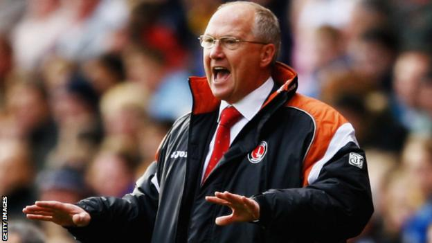 Les Reed lasted seven games at Charlton Athletic
