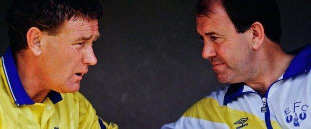 Howard Kendall and Colin Harvey