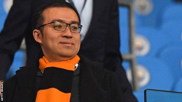 Wolves chairman Jeff Shi