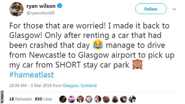 Ryan Wilson's Twitter