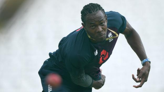 Jofra Archer: Fast bowler to miss England's two Tests in Sri Lanka with elbow injury thumbnail