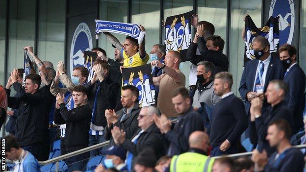Brighton fans