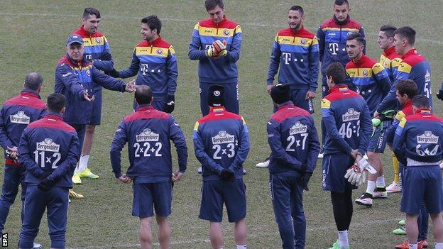 Romania players