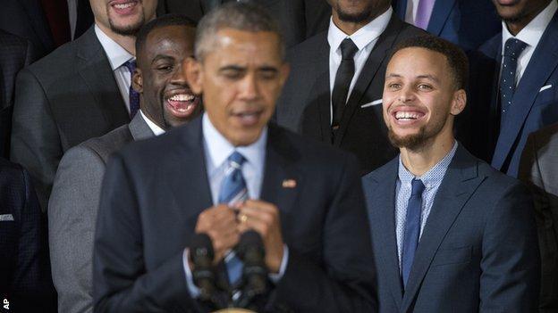 Obama Curry