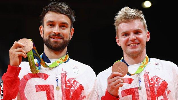 Marcus Ellis and Chris Langridge delivered a medal at Rio 2016, ensuring badminton hit UK Sport's target