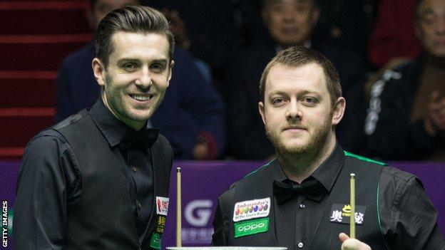 Mark Selby survived a late charge by Mark Allen to claim his first title of the season
