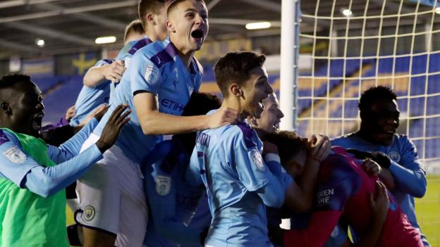 Leasing.com Trophy: Man City U21 through but Chelsea youngsters out