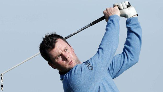 Caldwell carded a final round 67 to finish on 13-under-par