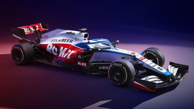 FW43 Williams F1 car
