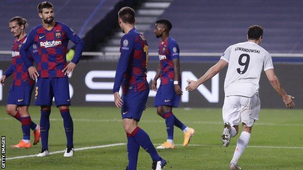 Barcelona V Bayern Munich Big Changes Needed At Humiliated Barca Gerard Pique Bbc Sport