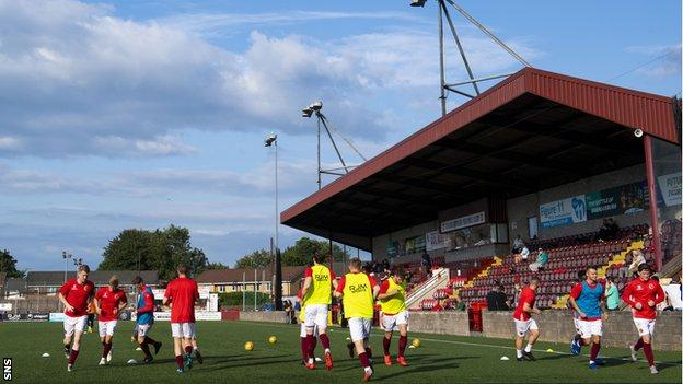 League 1 Stenhousemuir are among clubs unhappy at the shutdown