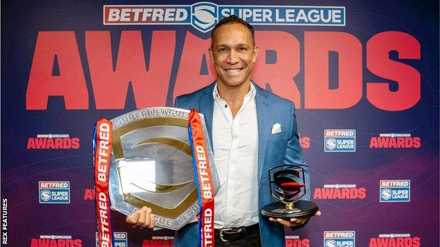 As well as guiding Wigan Warriors to the League Leaders' Shield, Adrian Lam won the 2020 Super League Head Coach of the Year award