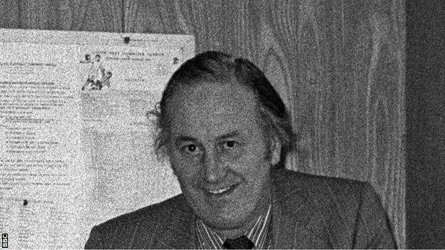 Eddie Heath pictured in 1982