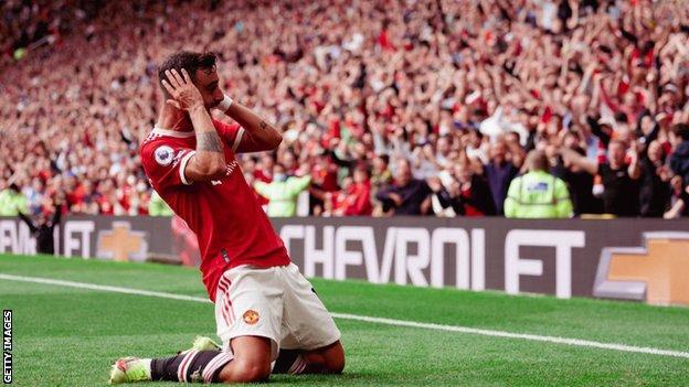 Bruno Fernandes, Manchester United, Old Trafford