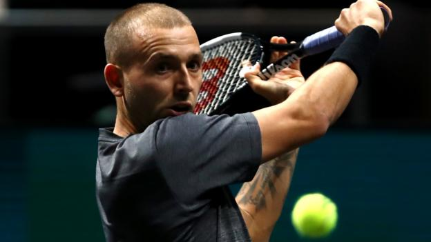 Britain's Evans through to round two in Rotterdam thumbnail