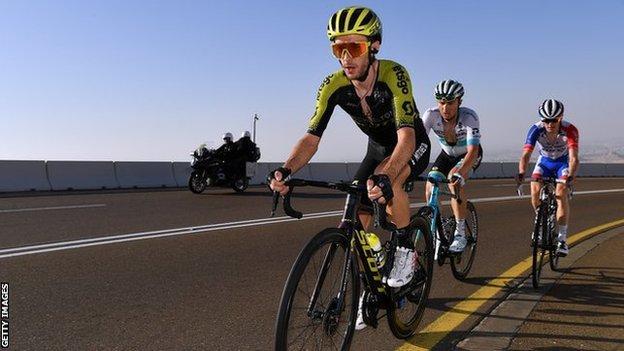 Adam Yates UAE Tour