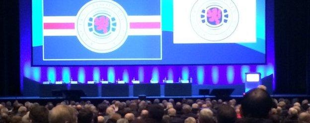 Rangers welcome shareholders to Clyde Auditorium