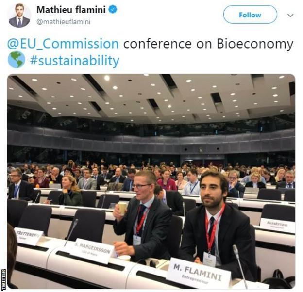 Mathieu Flamini tweet