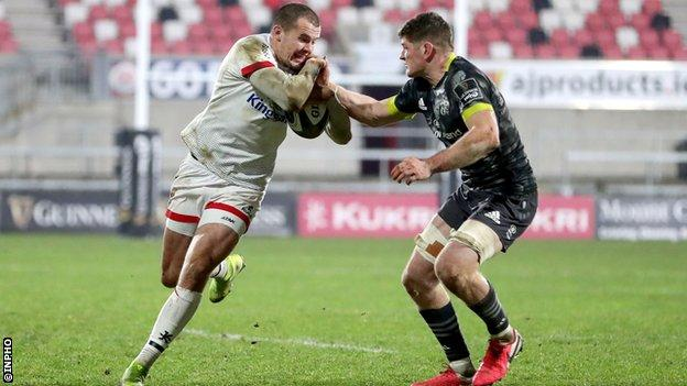 Jacob Stockdale in action