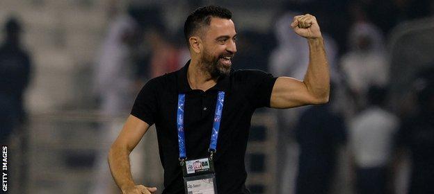 Xavi has been in charge of Qatari side Al Sadd since May