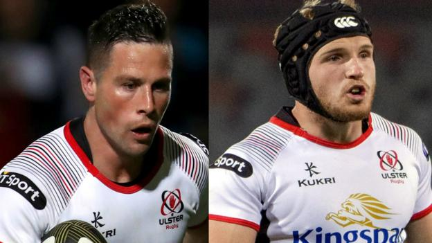 Ulster Rugby: Cooney and Curtis in fitness race for Racing 92 trip - BBC Sport