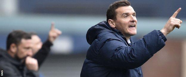 Kilmarnock's interim boss Lee McCulloch