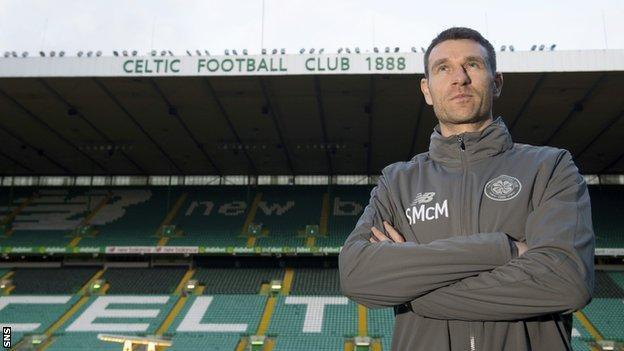 Celtic Under-18s coach Stephen McManus