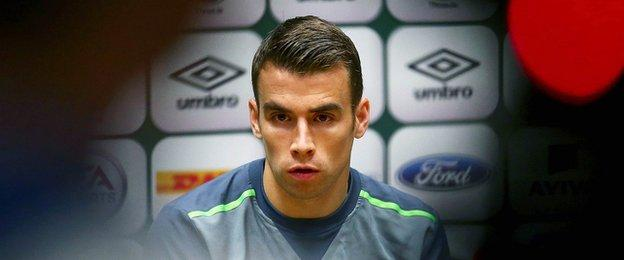 Everton defender Seamus Coleman is back in the Republic squad after injury