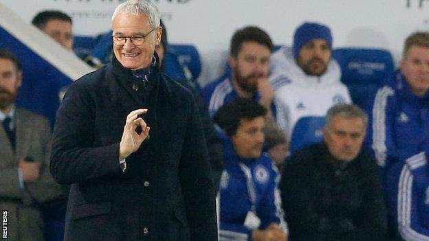 Leicester boss Claudio Ranieri and Chelsea counterpart Jose Mourinho