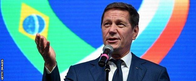 Zhukov held a press conference on the eve of the Olympics