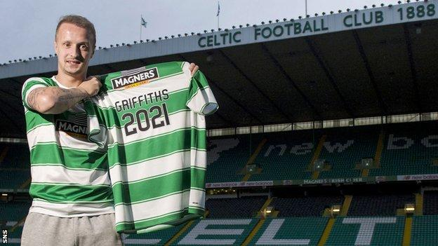Griffiths' new deal commits him to Celtic until the summer of 2021