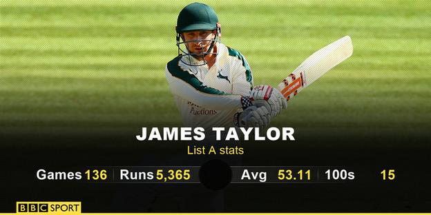 James Taylor stats