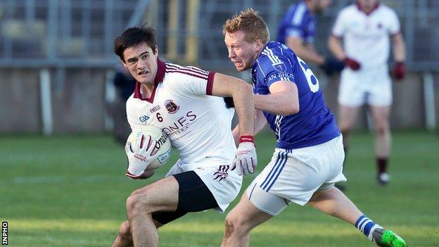 Action from Slaughtenil v Scotstown at Clones