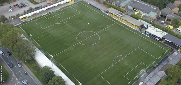 Harrogate Town play on a 3G pitch which raises around £200,000 a year through community hire