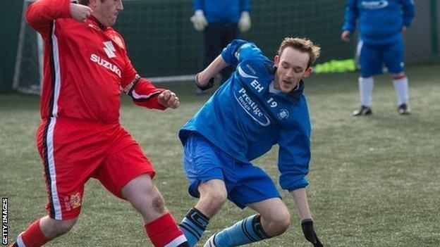 Elliott Holdham of AFC Dunstable
