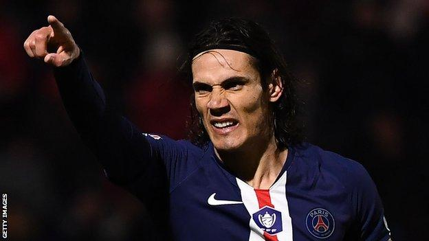 Edinson Cavani Asks To Leave Psg After Atletico Madrid Approach Bbc Sport